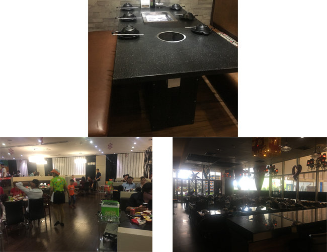 CENHOT Hot Pot And BBQ project For Claudia's Restaurant In Myanmar 2017