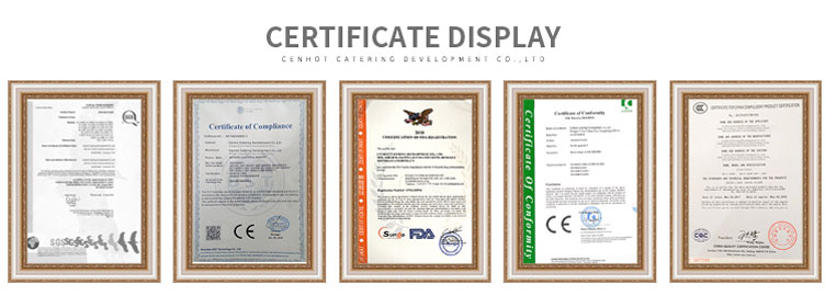 Products certifications - CENHOT