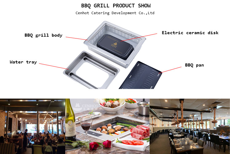 Restaurant Korean Electric BBQ Grills products show - CENHOT