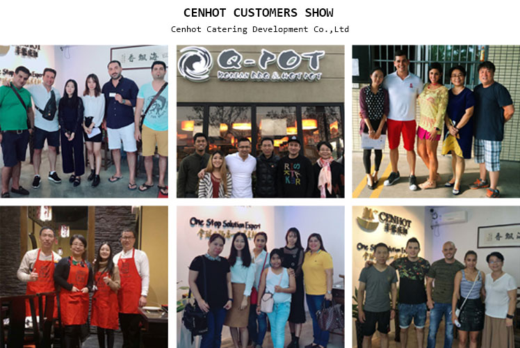OUR CUSTOMERS SHOW - CENHOT
