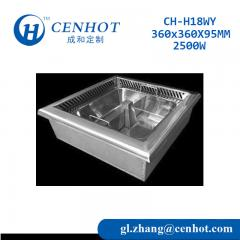 Big Smokeless Electric Hot Pot Induction Cooker For Restaurant - CENHOT
