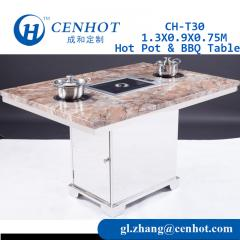 Shabu Shabu Table Korean BBQ Grill Table Supplier - CENHOT