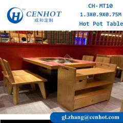 Like Haidilao Restaurant Commercial Hot Pot Tables And Chairs Furniture Supply - CENHOT