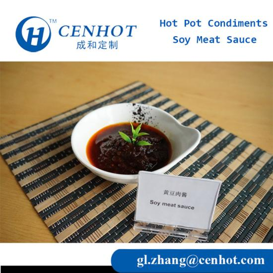 Wholesale Spicy Huoguo Soy Meat Sauce Hotpot Seasoning China - CENHOT
