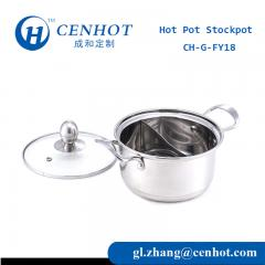 Mini Hot Pot With Divider For Hot Pot Restaurant Supply China - CENHOT