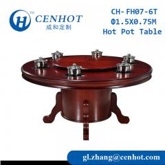New Style Round Popular Restaurant Hot Pot Table For Sale - CENHOT