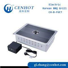 Square Korean Electric BBQ Grills Suppliers With Control - CENHOT