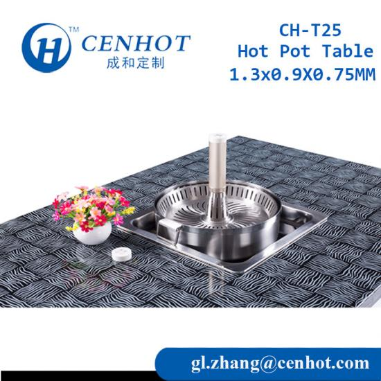 Customized Hot Pot Tables Supply In China - CENHOT