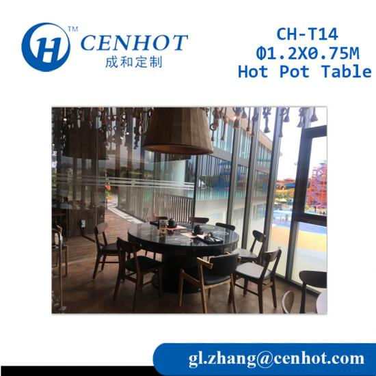Metal Hot-pot Tables,Hot Pot Table Manufacturers China - CENHOT