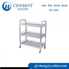 Restaurant Food Cart For Servers Manufacturers - CENHOT