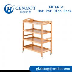 New Style Wooden Hot Pot Dish Rack,Hotel,Restaurant Dish Rack - CENHOT