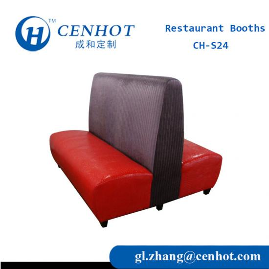 Restaurant Booths With Double Sides Supply China - CENHOT