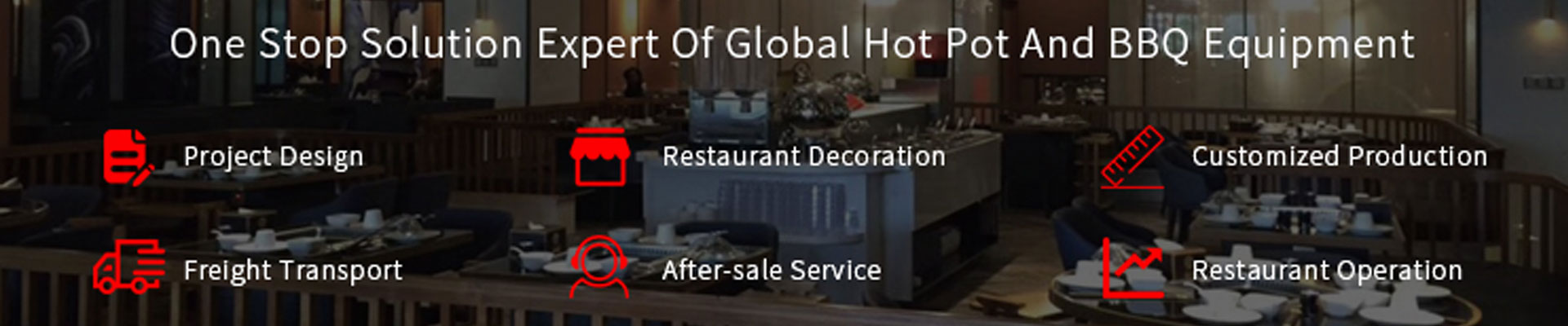 CENHOT BRAND ONE STOP SOLUTION EXPERT OF HOT POT & BBQ EQUIPMENT