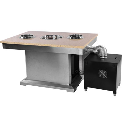 Smokeless Hot Pot & BBQ Equipment